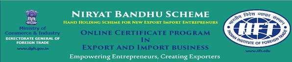 Niryat Bandhu at your Desktop launched by DGFT