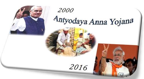 Antyodaya Anna Yojana AAY Scheme Ration Card Color