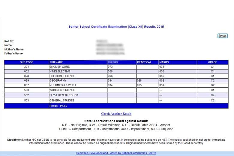 CBSE 10 and 12 marksheets online using Digilocker
