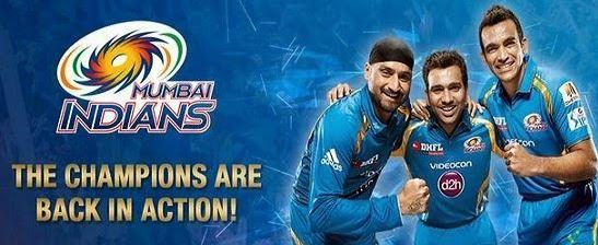 IPL 10 Mumbai Indians (MI)