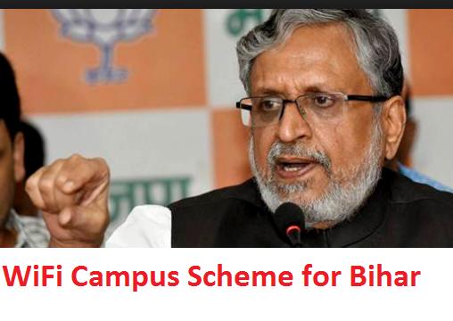 WiFi Campus Scheme for Bihar