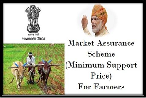 Market Assurance Scheme (Minimum Support Price (MSP)) For Farmers