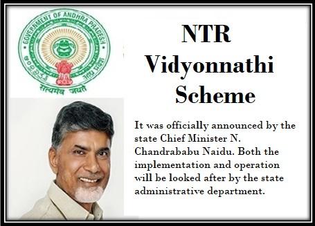 NTR Vidyonnathi Scheme in Andhra Pradesh