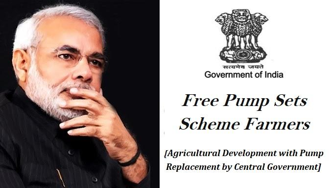 Free Pump Sets Scheme Farmers