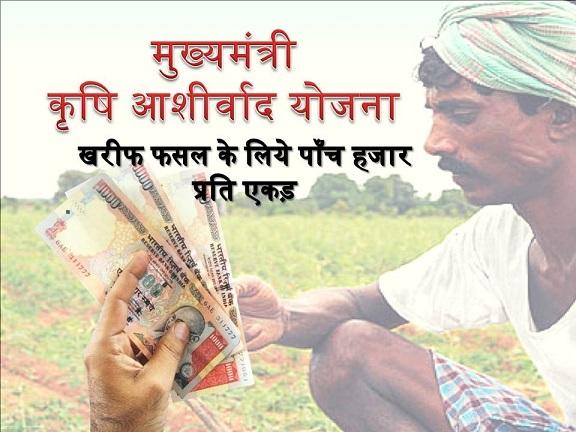 Mukhyamantri Krishi Aashirwad Yojana In Jharkhand